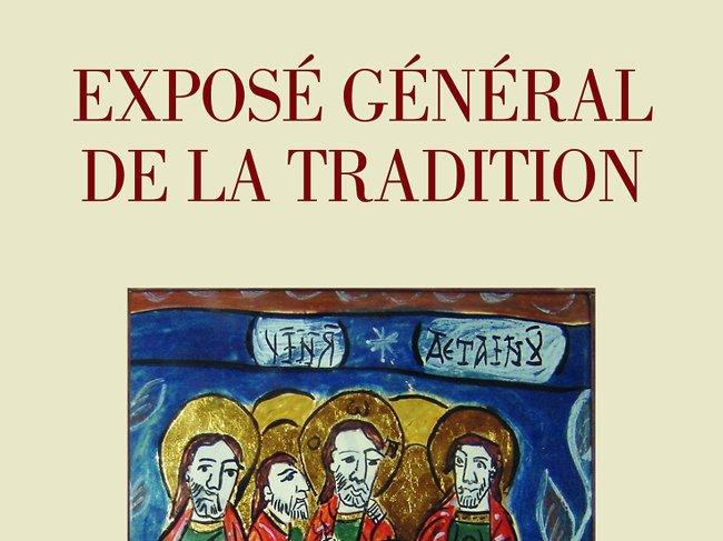 Exposé général de la tradition