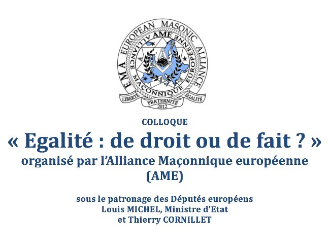 Colloque AME