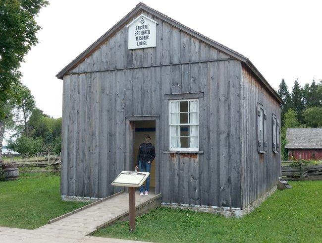 Brethren Masonic temple Ontario