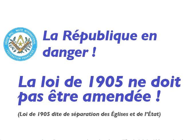 DH Loi de 1905
