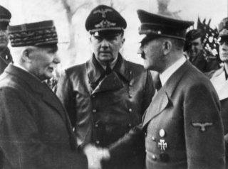 Petain et Hitler