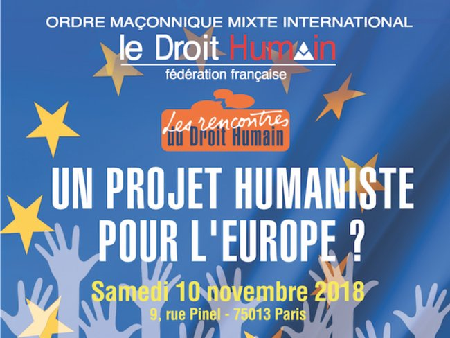 Projet Humaniste pour Europe 101118