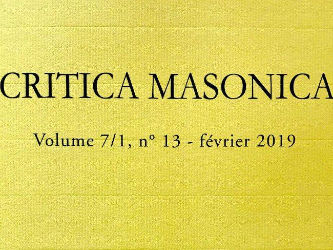 Critica masonica fev 19