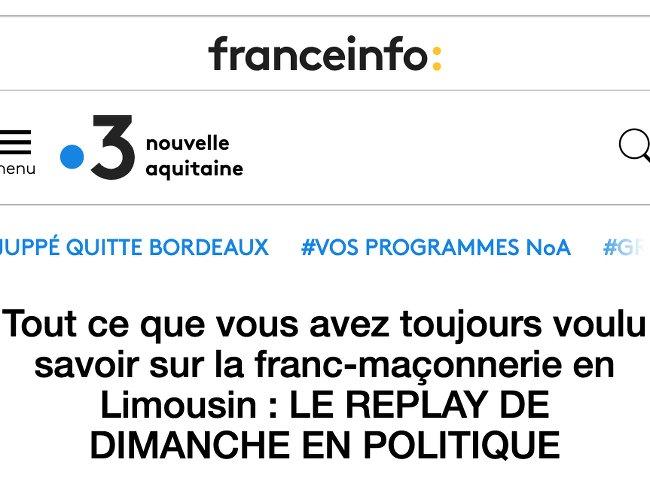 FR3 aquitaine 100319