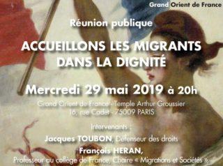 accueillons les migrants dans la dign