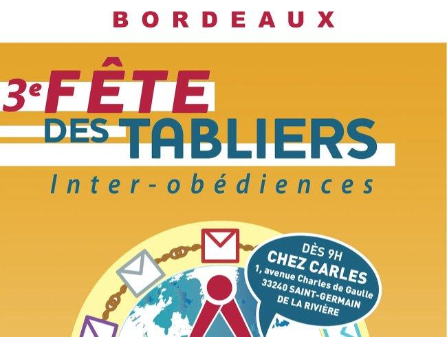 3e fete des tabliers Bordeaux