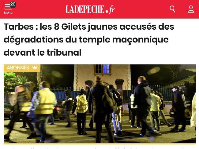 Tarbes la Depeche 060619