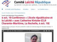 Kintzler La Rochelle 041019