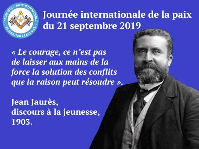 journee de la Paix 2019