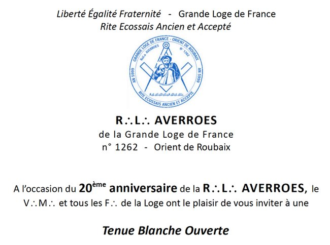 20 ans Averroes
