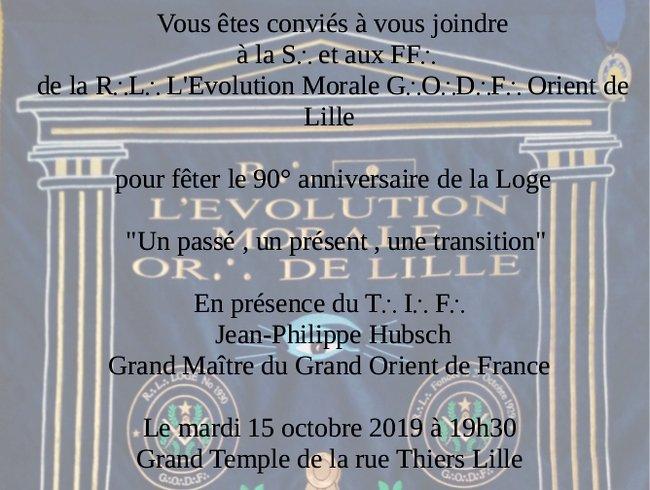 90 ans EvoluMorale Lille