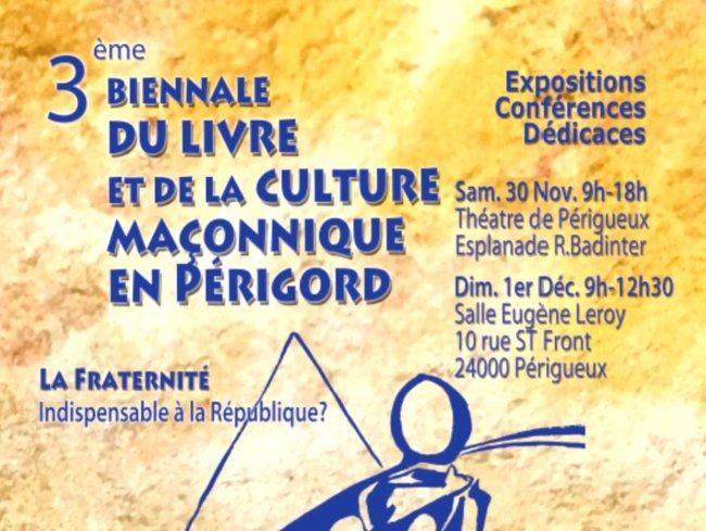 3e biennale maconnique Perigord