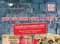 violence pour la paix 231119